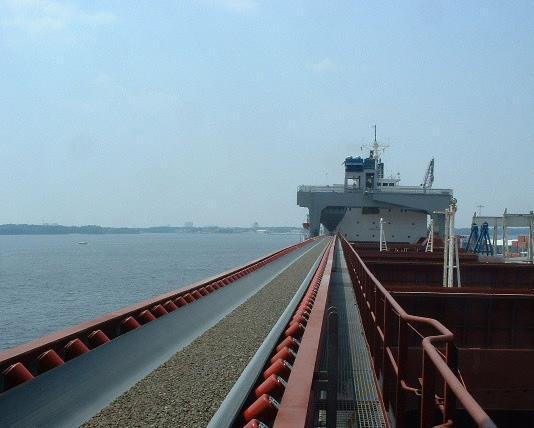 砂料运输输送带